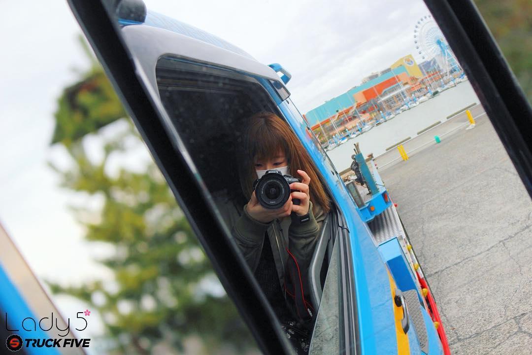 朱香 | トラック写真家