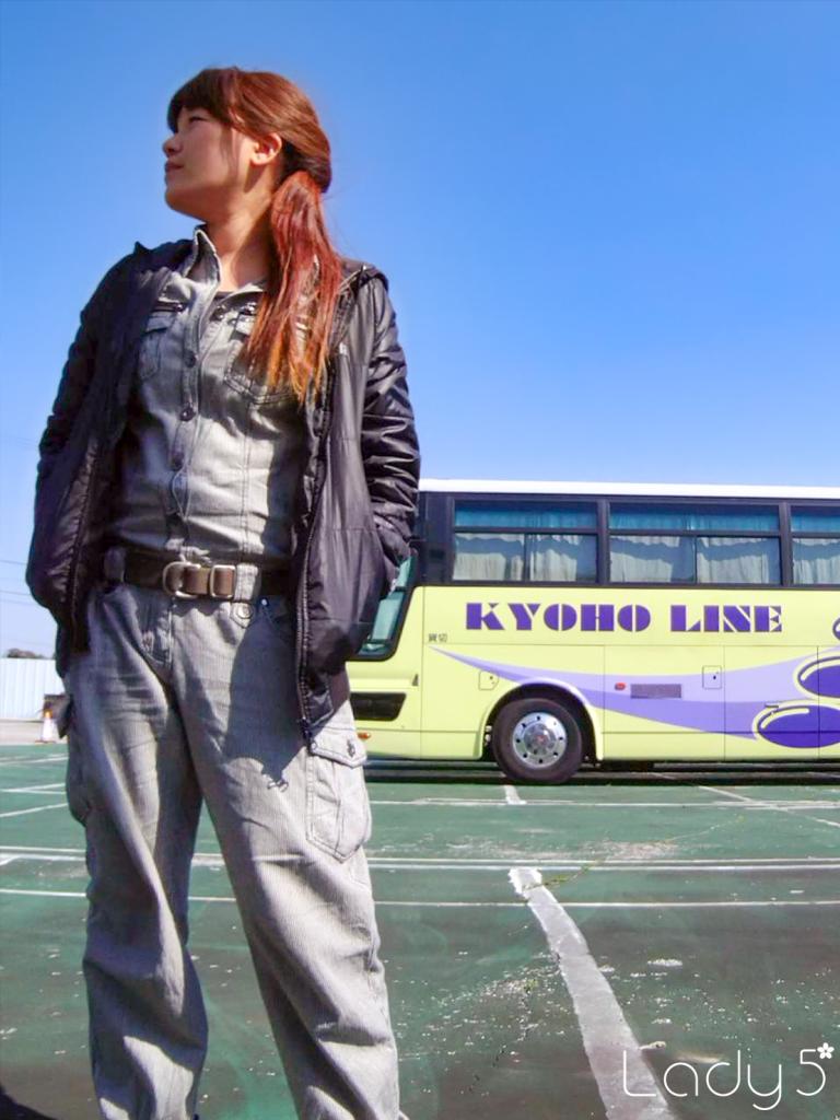 現役女性バス運転手インタビュー